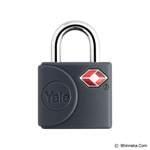 YALE Travel Lock [YTP4/25/111/2G] - Grey - Gembok Kombinasi